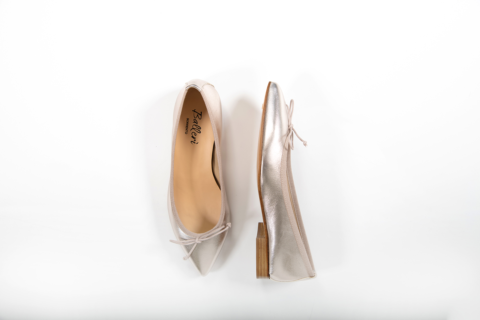 Ballerina a punta Eleonora Pelle Platino